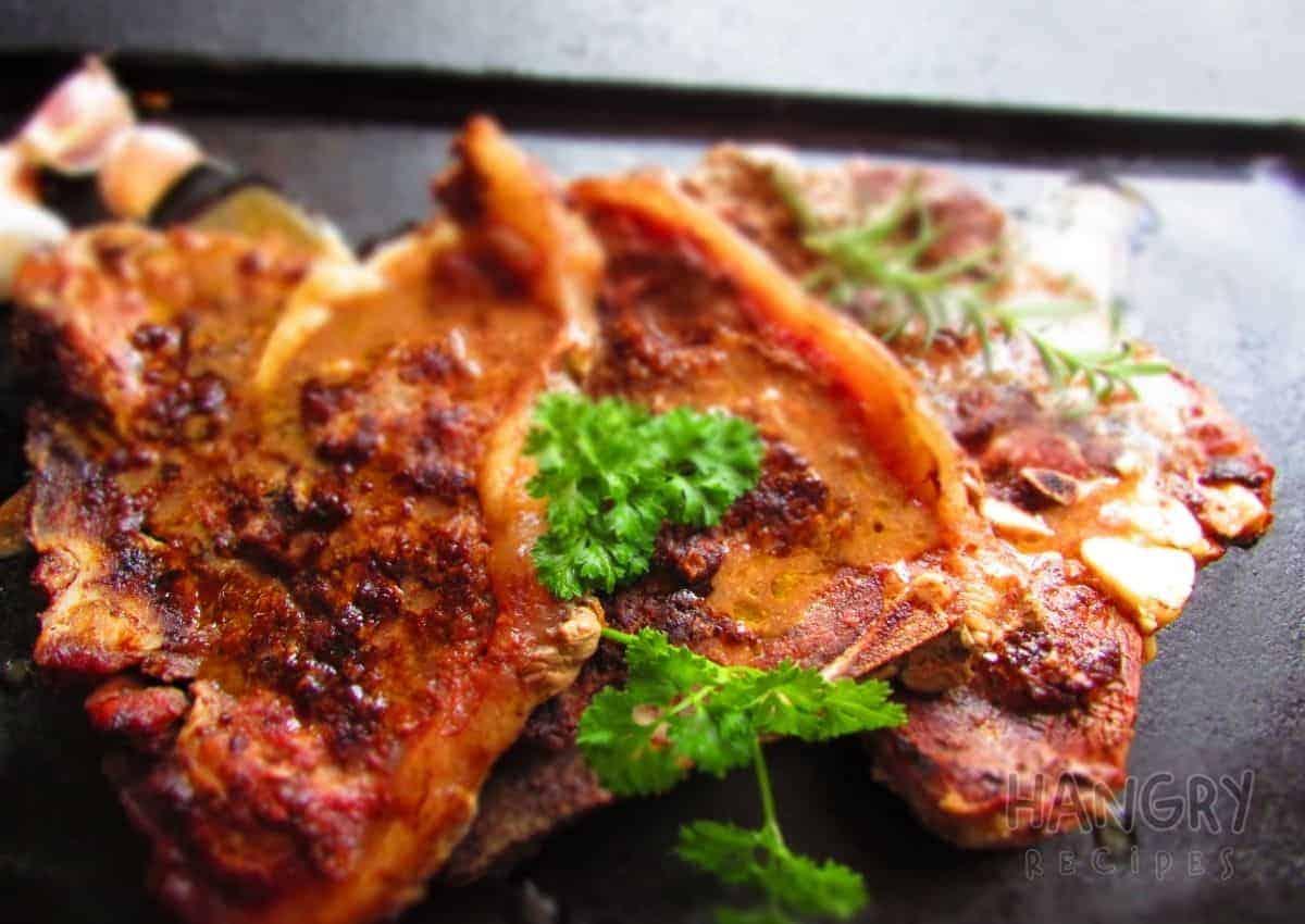Butter T-Bone Steak