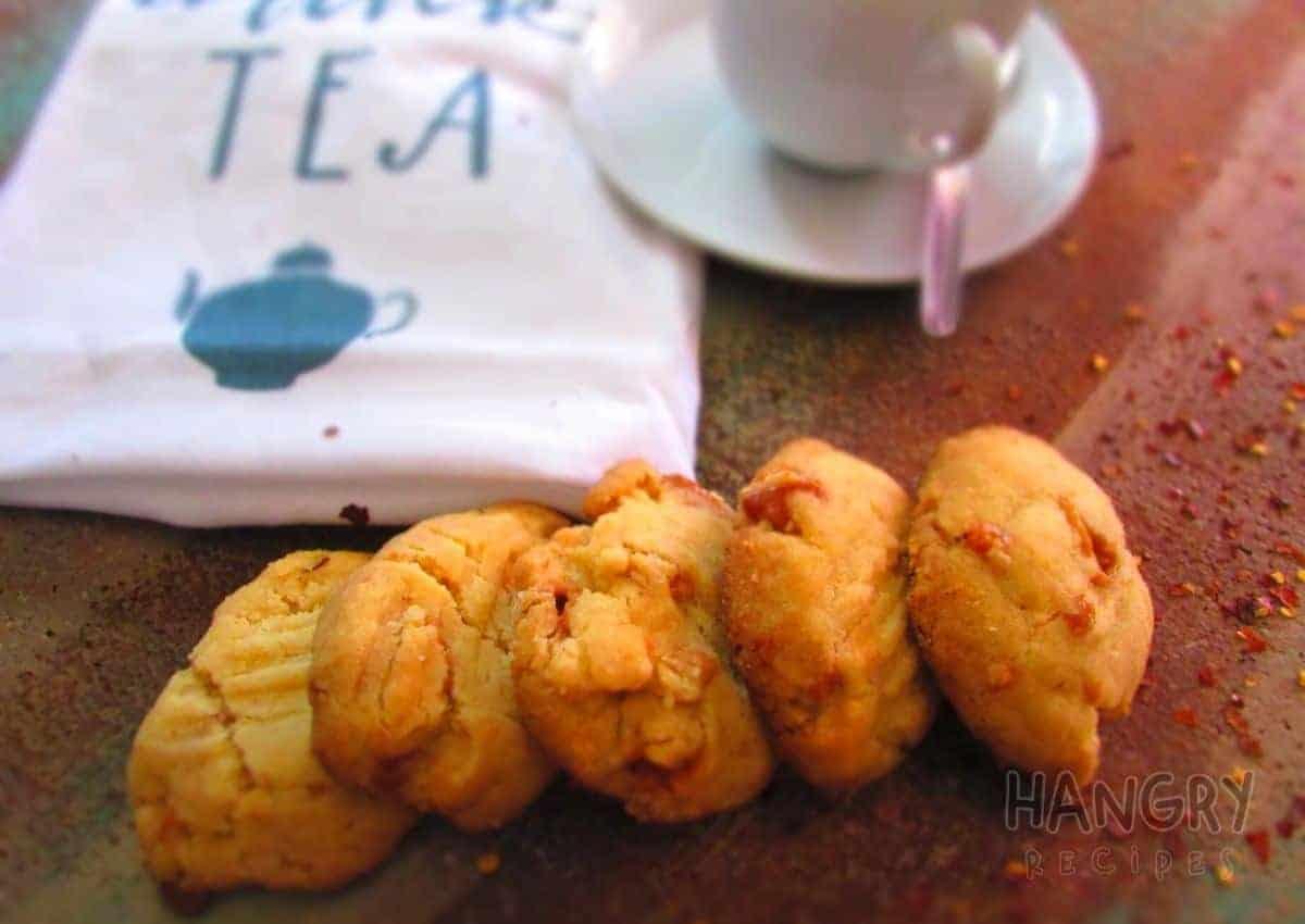 Caramel Chili Biscuits