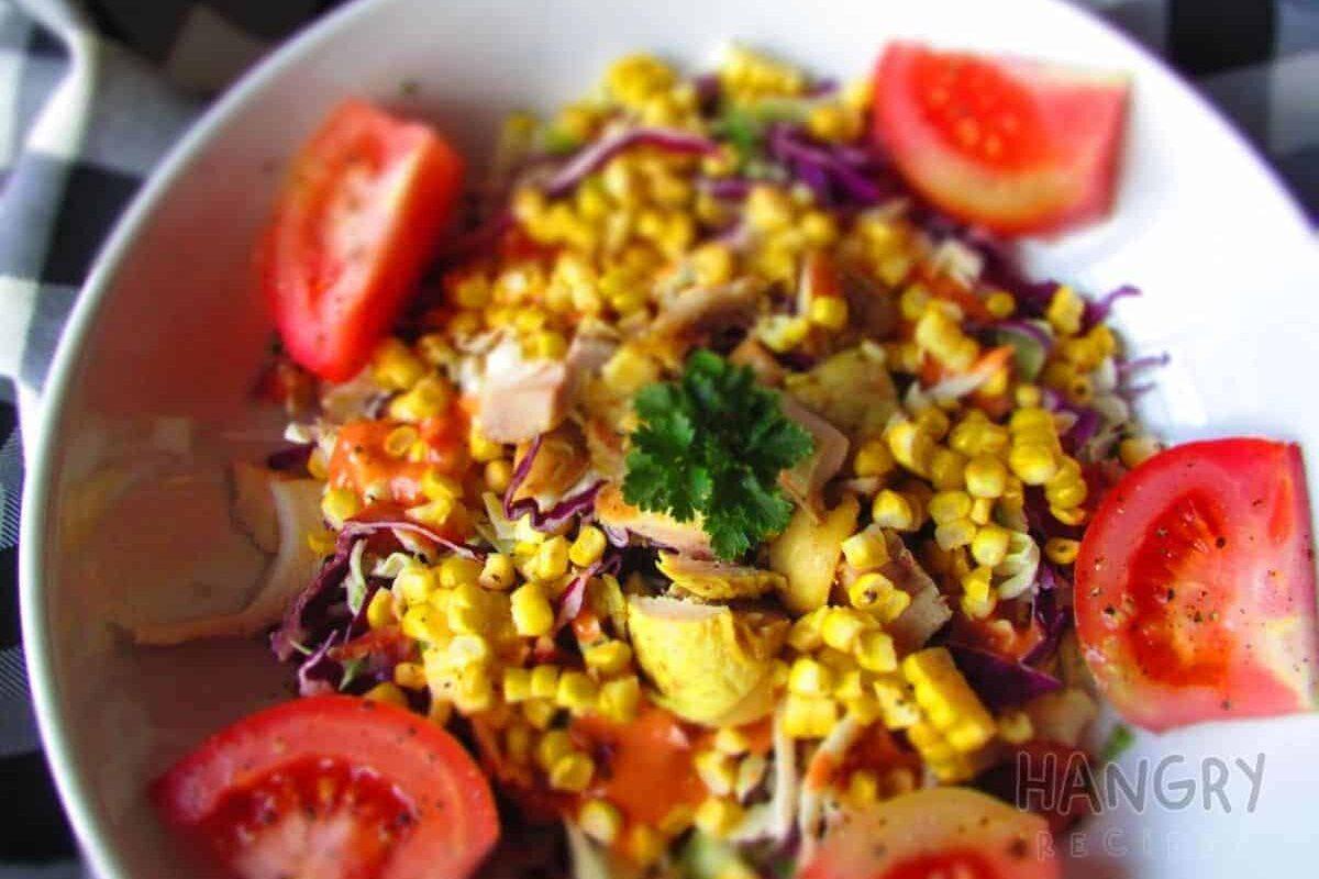 Grilled Sweetcorn Salad