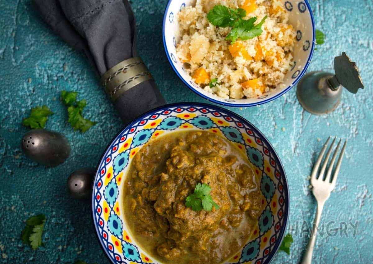Moroccan Honey Lamb & Date Tagine with Butternut Couscous.