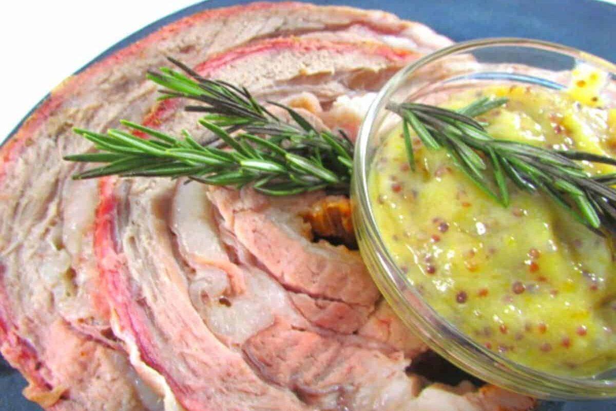 Rolled Rosemary Beef Roast