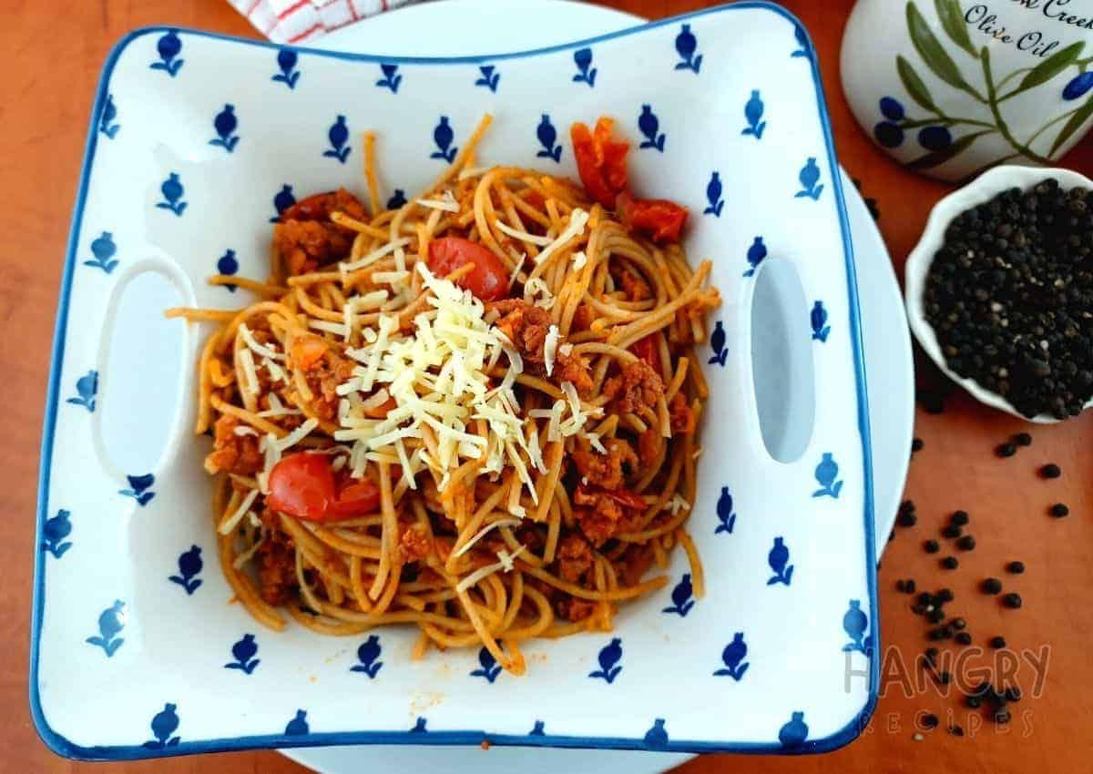 Delicious Spaghettis Bolognese