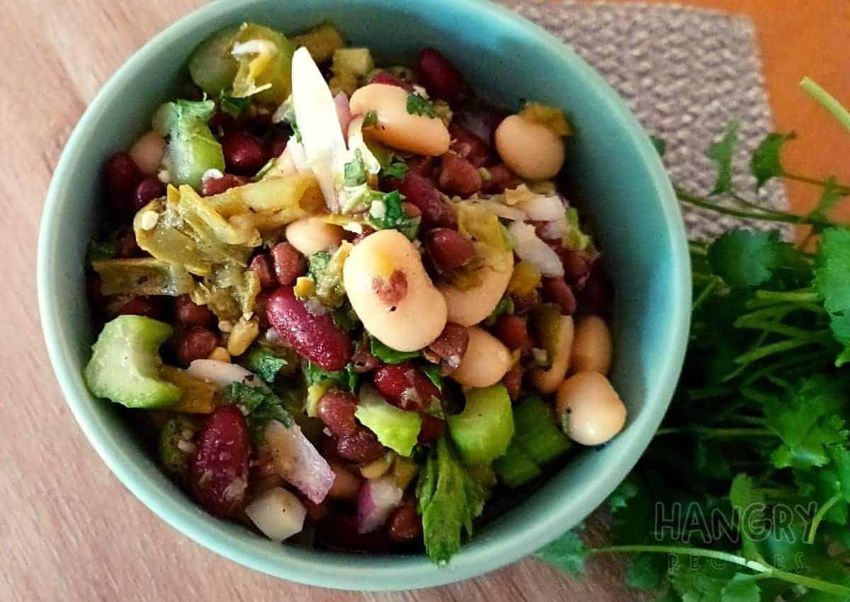 Four Bean Marinated Salad