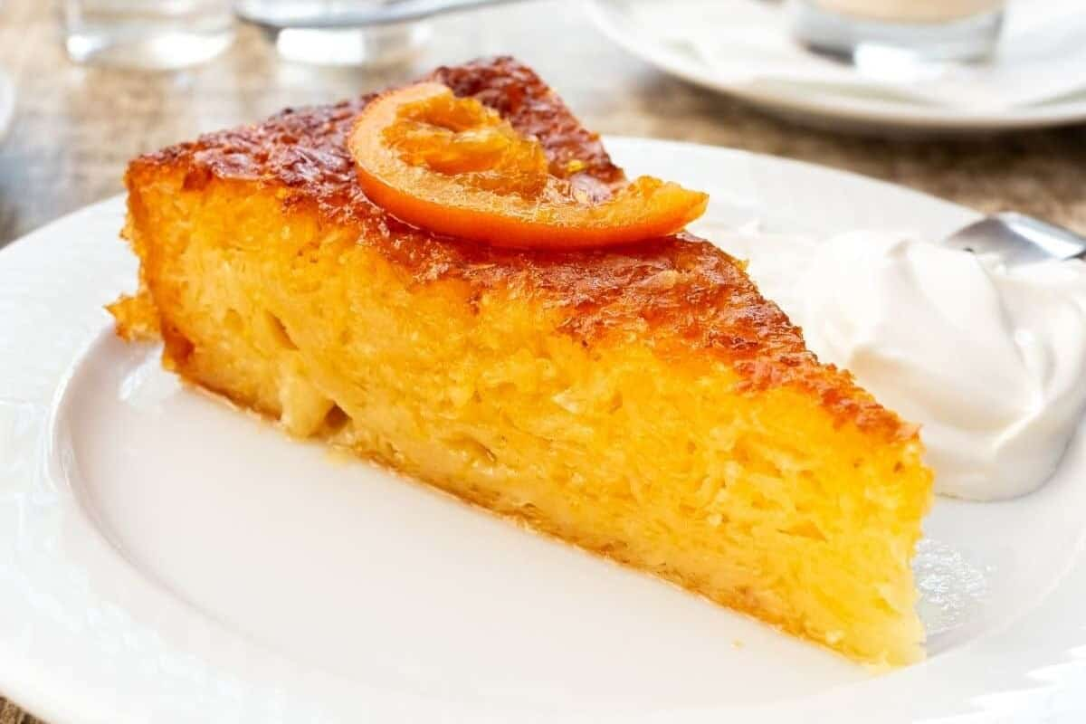 Orange Cake with Syrup