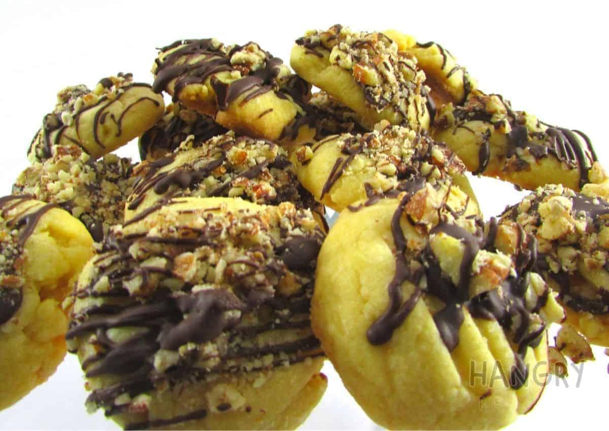 Pecan Chocolate Shortbread