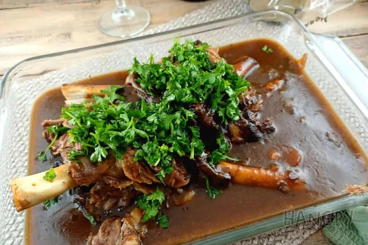 Quick and Saucy Lamb Shank