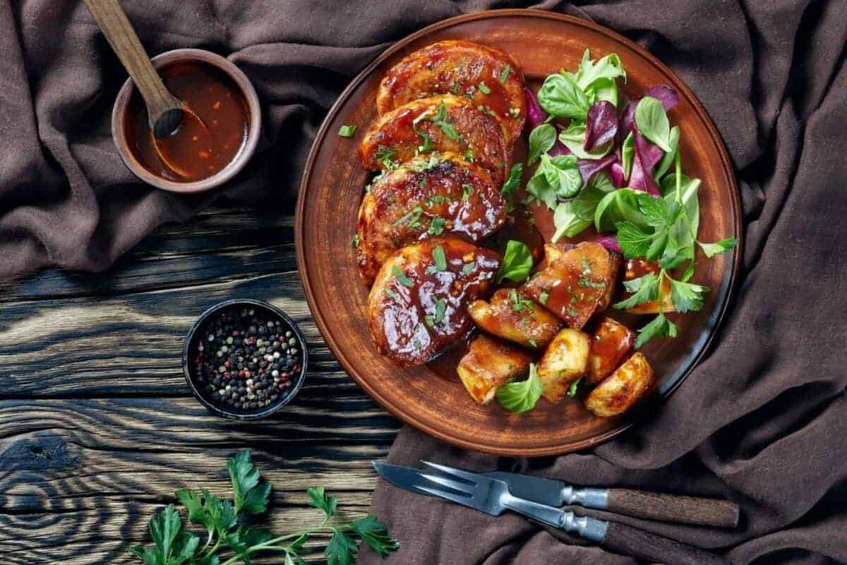 Sticky Asian Pork Chops