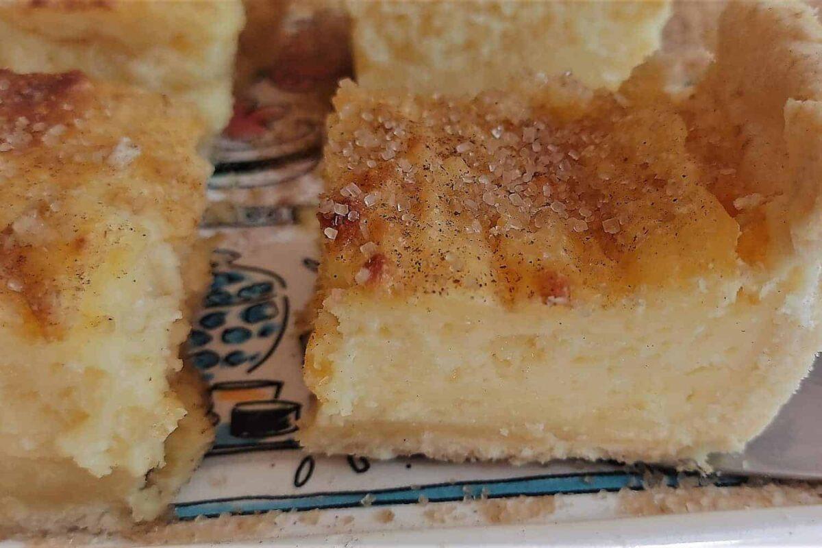 Traditional Baked Milk Tart (Melktert) Recipe