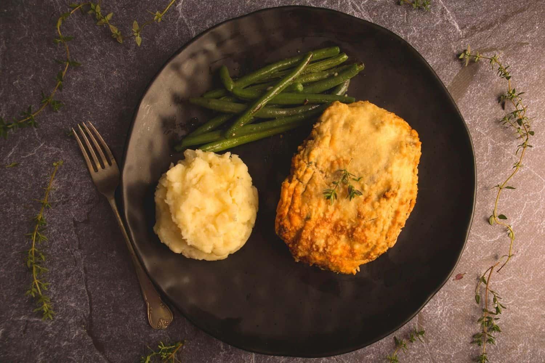 Cottage Pie with Cauliflower Mash & Parmesan