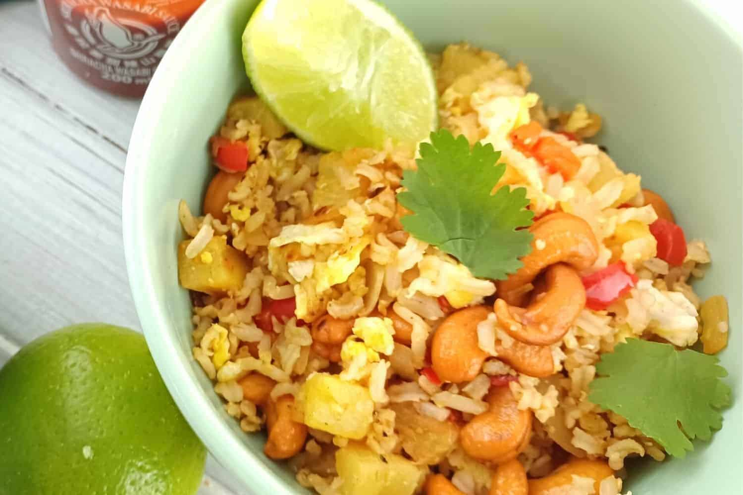 Exotic Pineapple Fried Rice