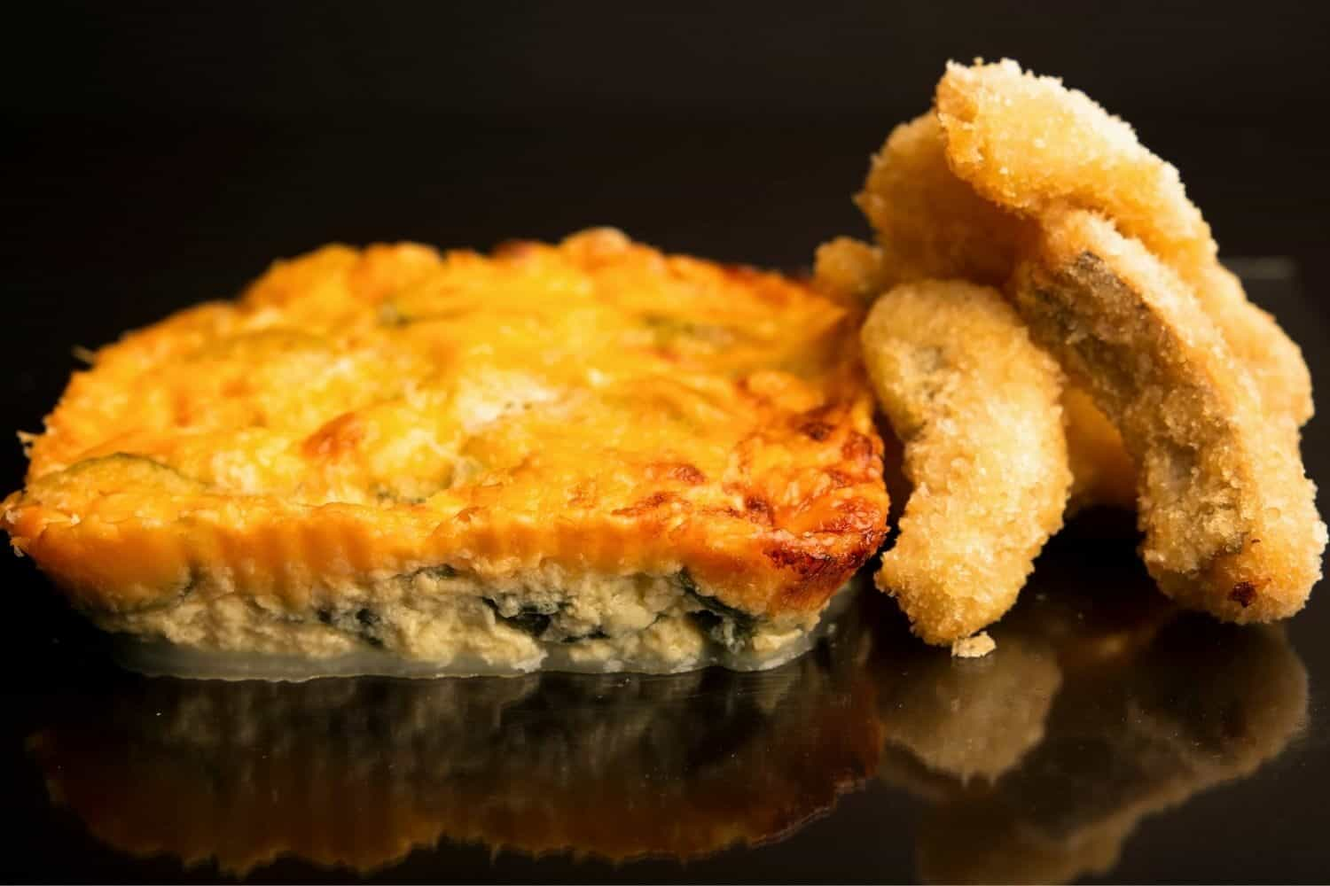 Grilled Hake Strips with Creamy Baby Marrows