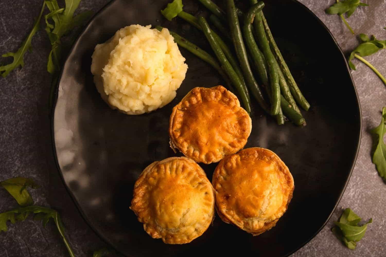 Petit Beef Pot Pie with Mashed Potato