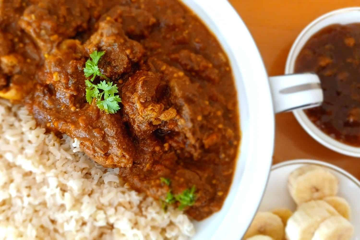 Spicy Beef Curry with Fresh Jalapeños