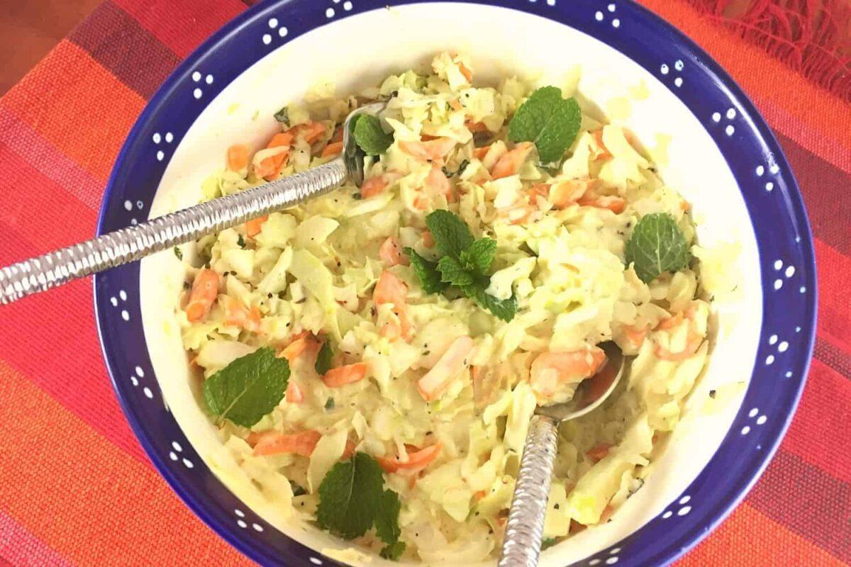 Turkish Cabbage Salad