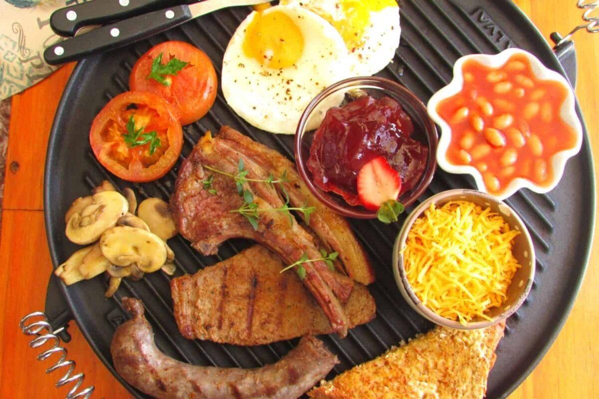 The Hangry Meat Lovers Farmhouse Breakfast